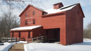 Mill in winter 3